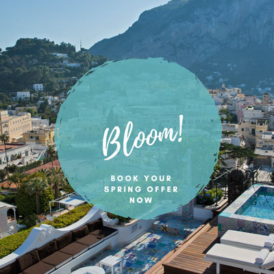 Capri Tiberio Palace Official Site: 5 Stars Hotel in Capri ...