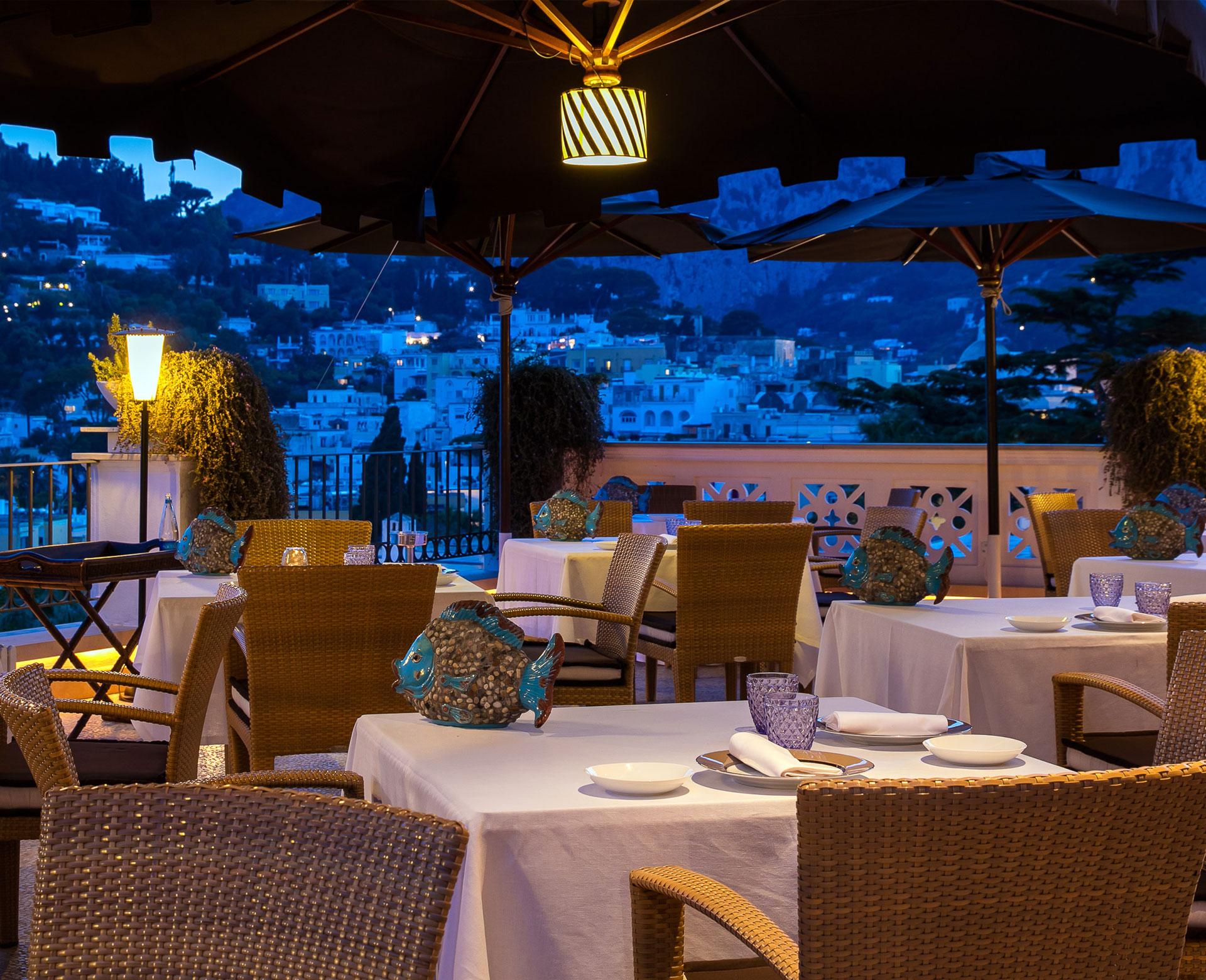 Capri Tiberio Palace Official Site: 5 Stars Hotel in Capri - Kosher ...